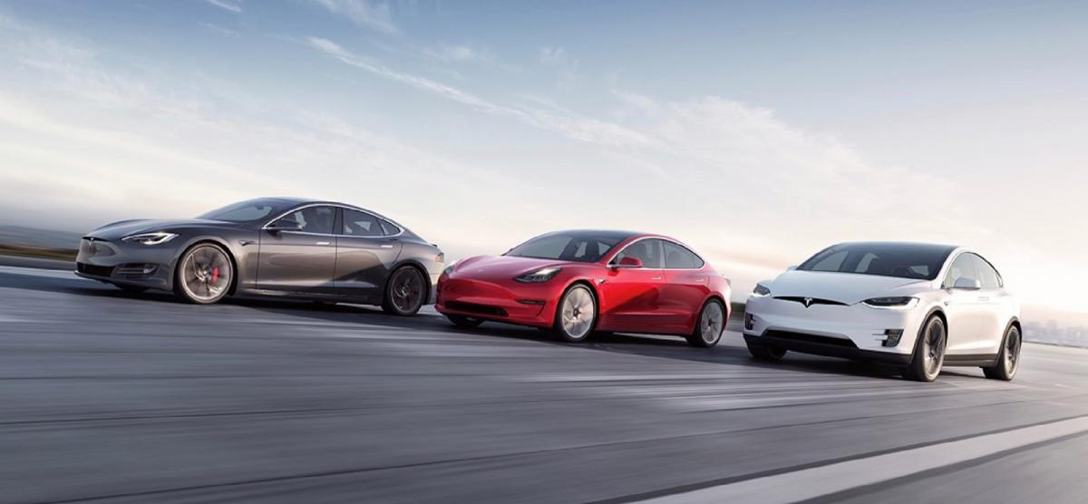 Tesla γκάμα μοντέλων