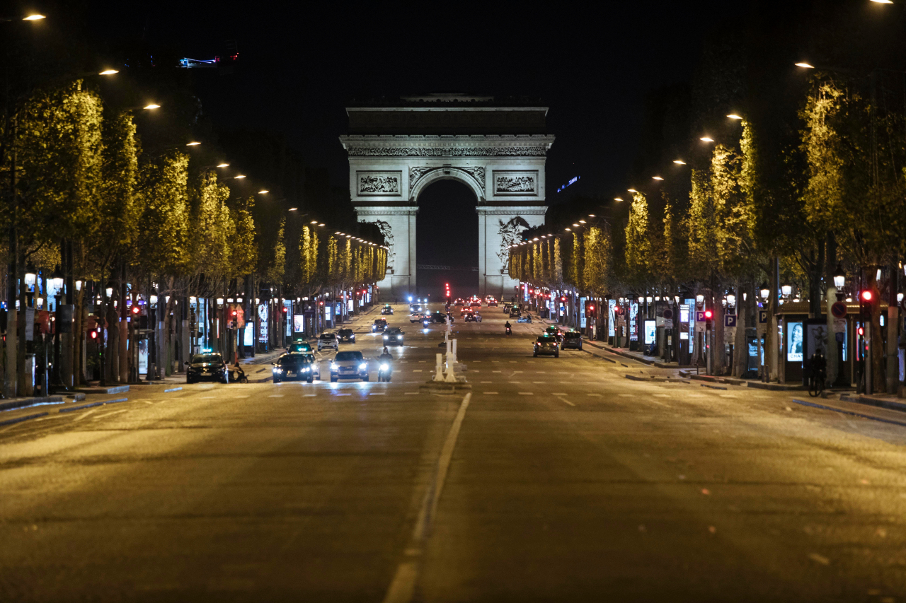 French virus curfew produces eerie quiet on streets of Paris | NewsNation Now