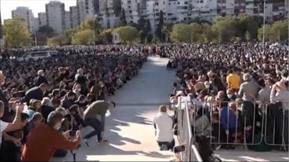 Montenegro - Orthodox Christians mourn their Metropolitan