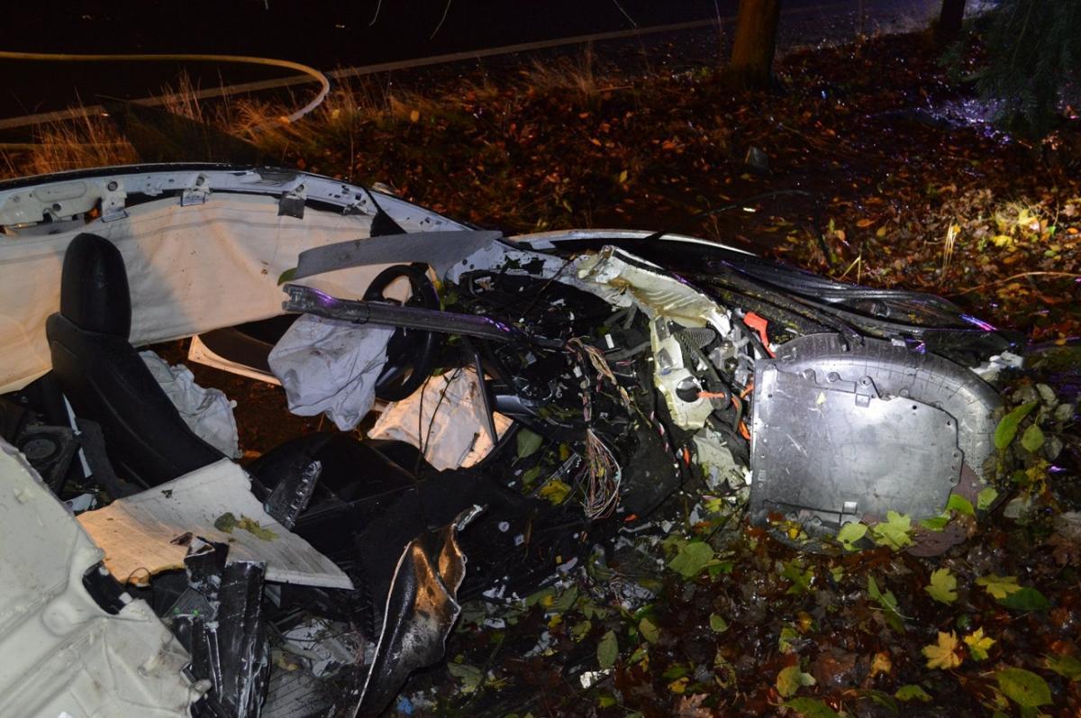 Tesla S ατύχημα