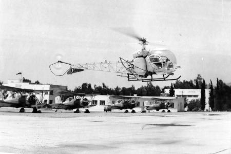 Το Agusta-Bell 47G-3, AB.47G-5, Bell OH-13H της Πολεμικής Αεροπιρίας