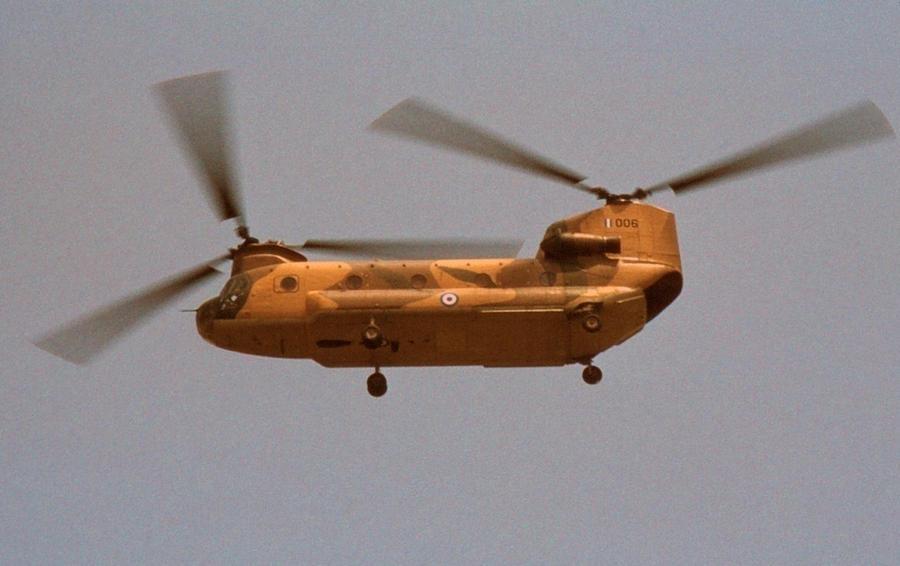 Το Boeing-Meridionali CH-47C Chinook της Πολεμικής Αεροπορίας