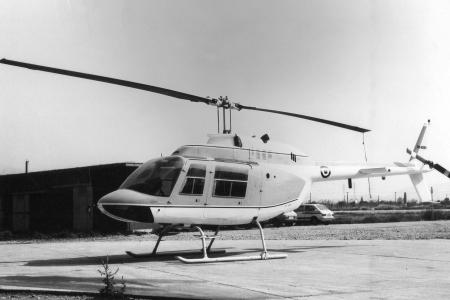 Το Agusta – Bell 206A Jetranger της Πολεμικής Αεροπορίας