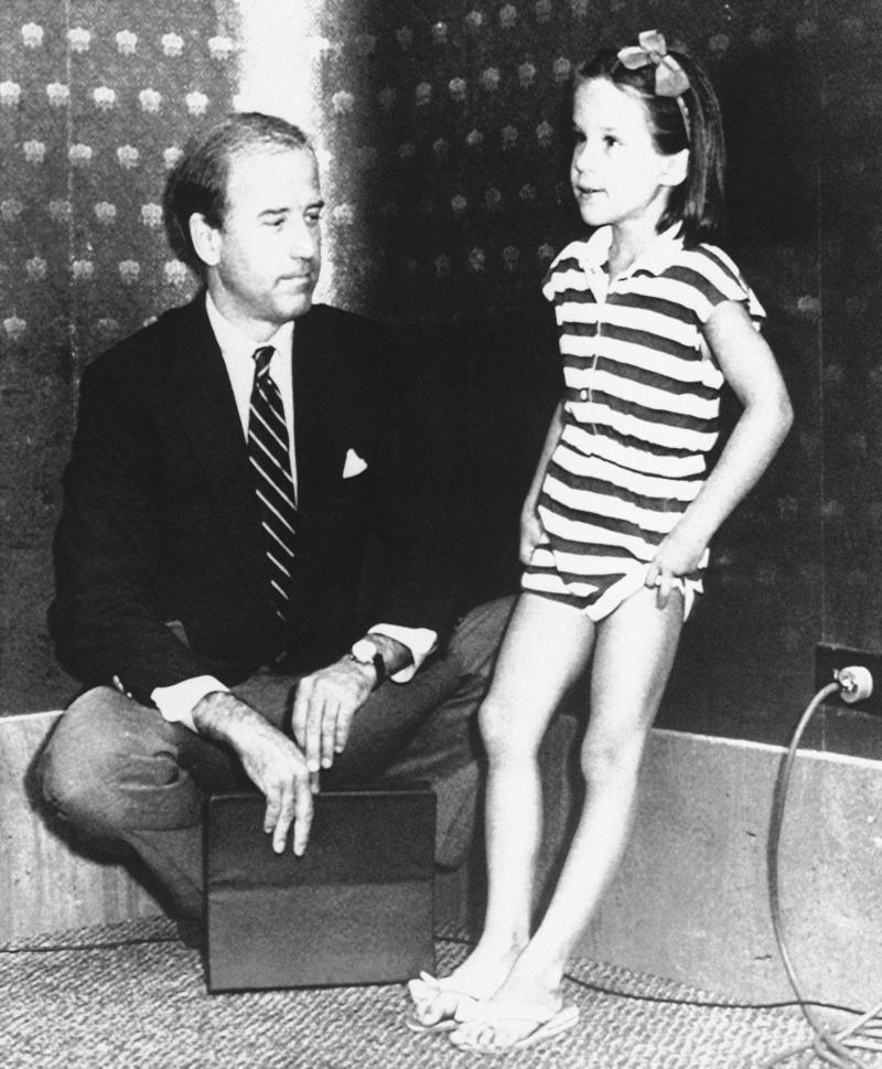 Ο Τζο Μπάιντεν με την κόρη του Άσλεϊ