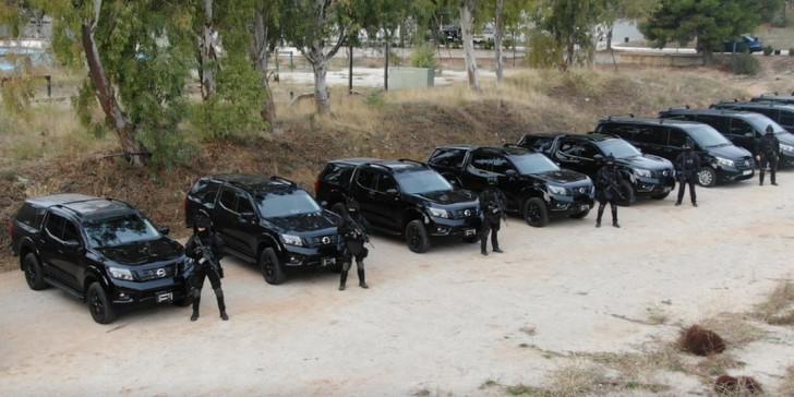 Εξοπλίζεται η Ελληνική Αστυνομία