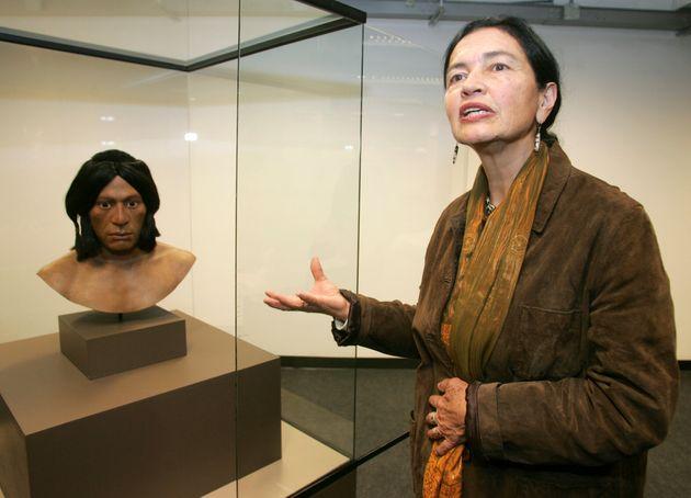 H Ρουθ Σάντι στο αρχαιολογικό...