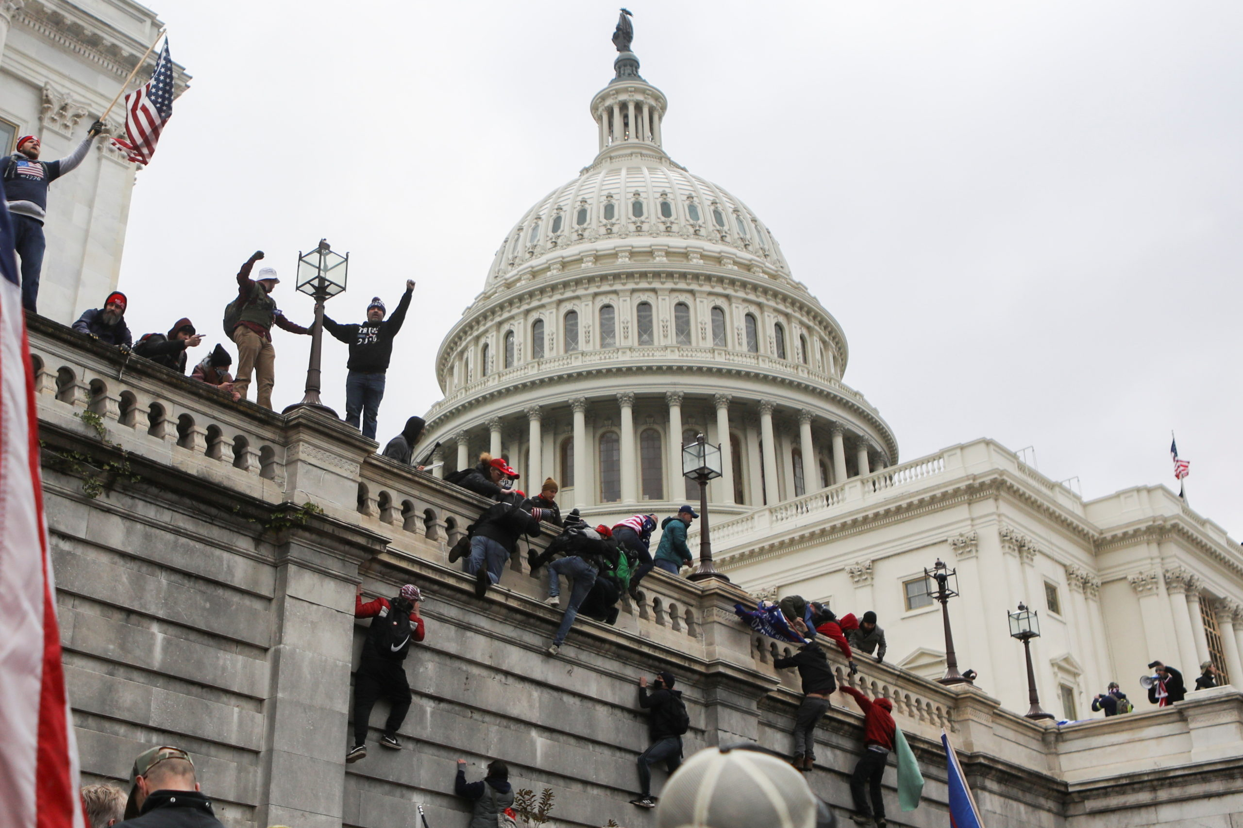 World stunned by violence in U.S. Capitol, attempts to overturn election | Inquirer News