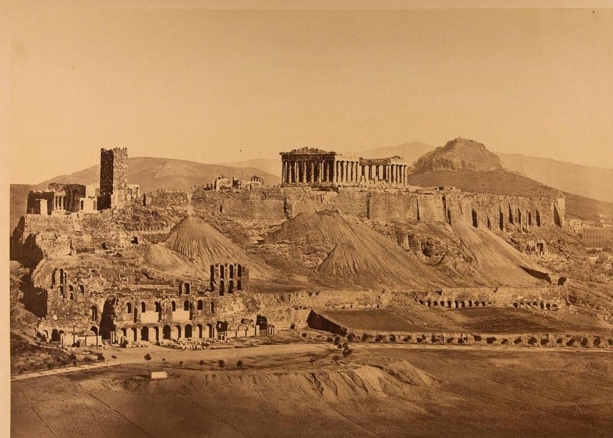 Πύργος Ακρόπολης 19ου αιώνα που δεν υπάρχει πια