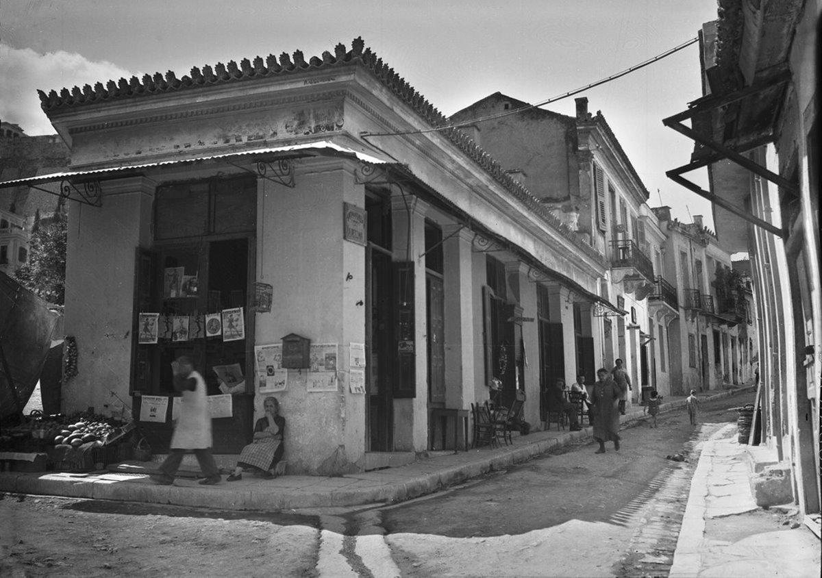 Η γειτονιά Βρυσάκι κάτω από την Ακρόπολη που γκρεμίστηκε με τα μαγαζιά της
