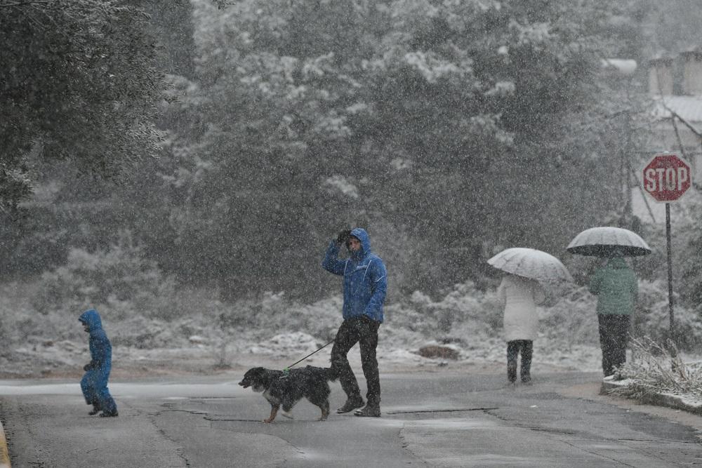 Χιόνια Διόνυσος Αττικής