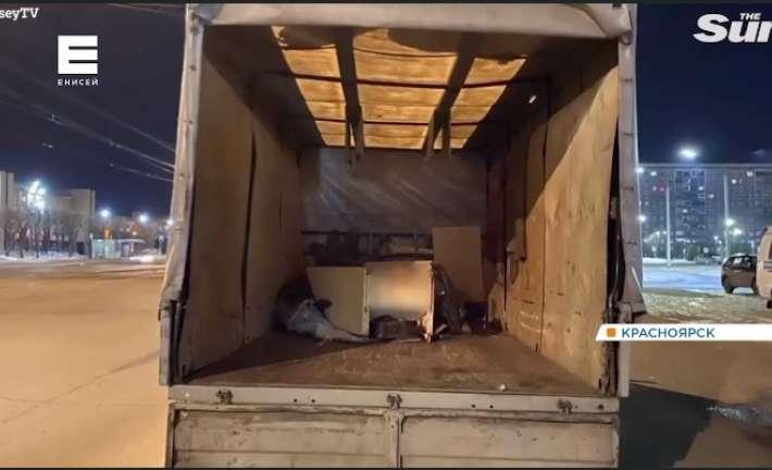 Το ψυγείο στο φορτηγό