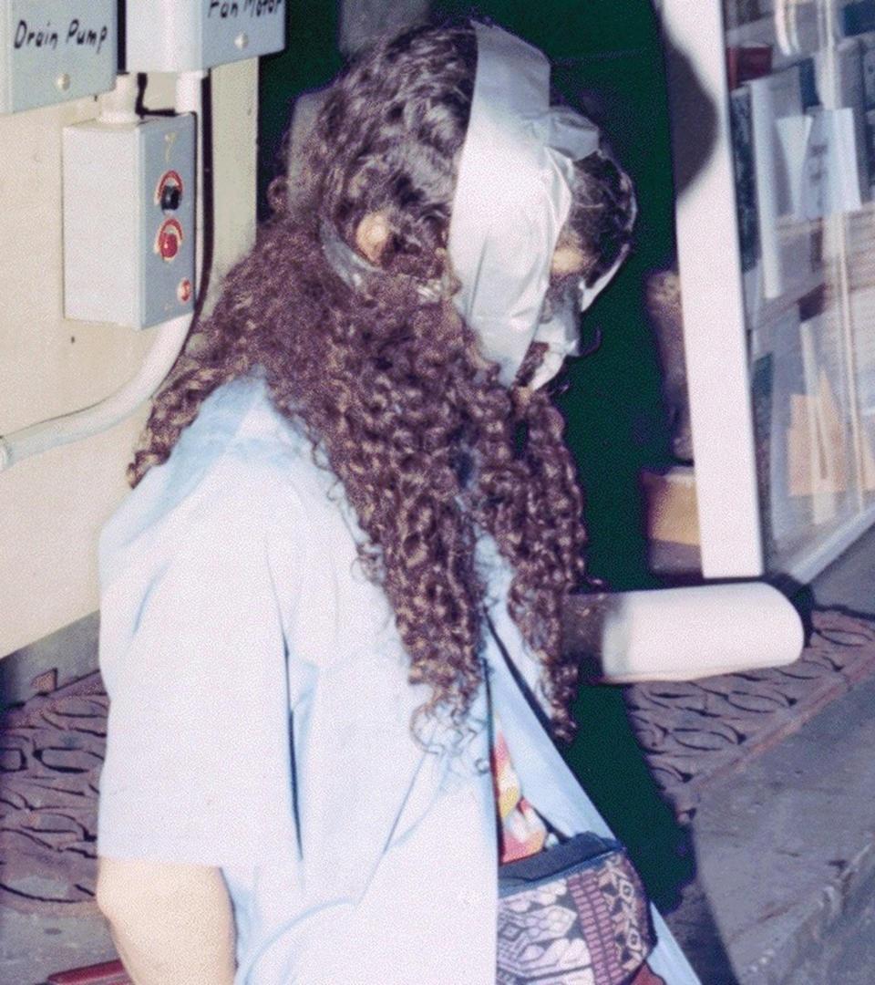 Ο ένας από τους δύο φύλακες δεμένος χειροπόδαρα, Πηγή: Isabella Stewart Gardner Museum