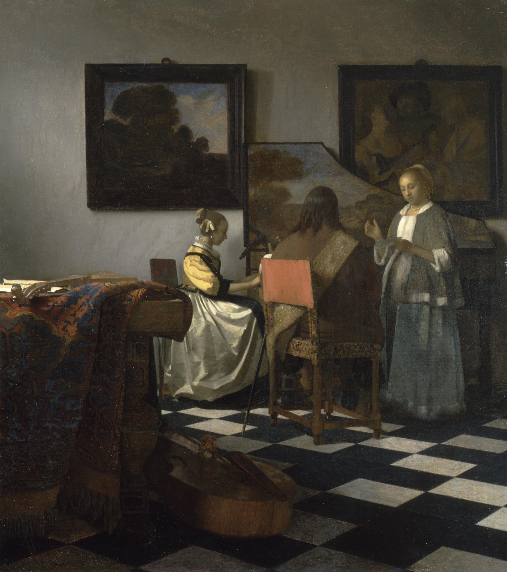 Ο πίνακας του Φερμέερ «Κονσέρτο», Πηγή: Isabella Stewart Gardner Museum