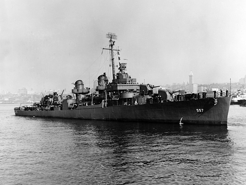 USS Johnston (DD-557): Naval History and Heritage Command - US NAVY