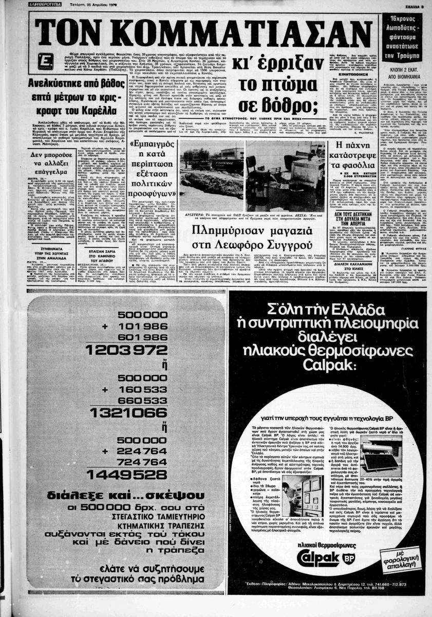 Έγκλημα στην Παλλήνη, 1979