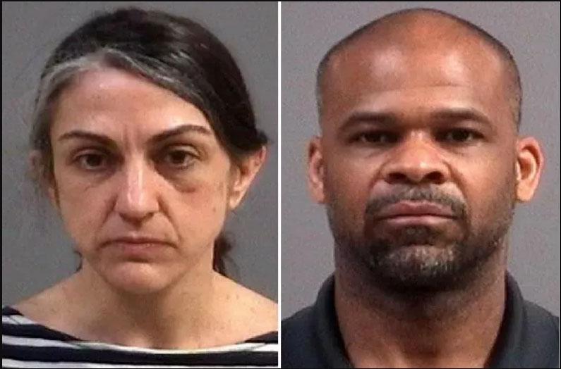 Οι συλληφθέντες Dina και Κassceen Weaver (πηγή: CHESTERFIELD POLICE)